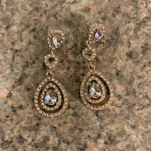 Givenchy Swarovski Earrings